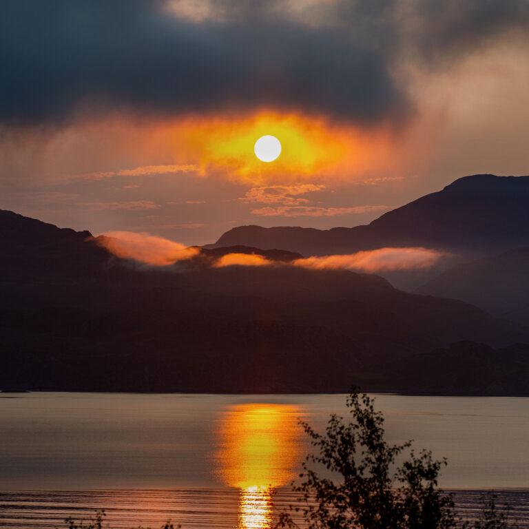 Dawn view from Verandah