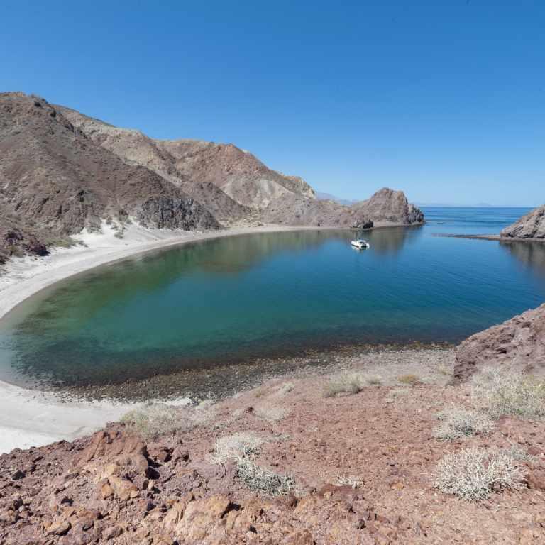 A remote anchorage in the Sea of Cortes